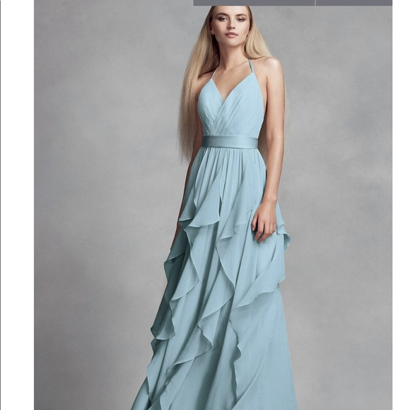 816db73747a Vera Wang Mist color bridesmaid dress never worn